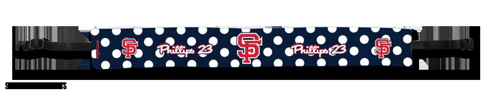 Sport Headband Styles polkadots