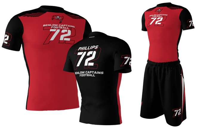 7on7 football jerseys
